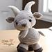 Gordy the Goat pattern