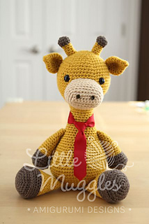 I Love Buttons By Emma: Crochet Giraffe Pattern | 320x214