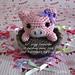 Lil' Piggy Cupcake pattern