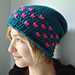 Candy Hearts Slouchy Hat pattern