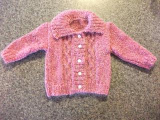 Sirdar-1378 Sirdar Baby Cardigans Baby Crofter Knitting Pattern 1378 DK