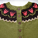 Tulip Yoke Baby Cardigan pattern