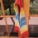 Rainbow scarf & hat pattern