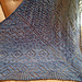 Purple Diamonds Shawl pattern