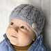 Harper - Cabled Baby Hat pattern