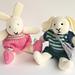 Robert and Rosie Rabbit pattern
