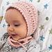 Savannah Baby Bonnet pattern