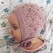 Little Hearts Bonnet pattern