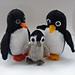 Porter Penguin Family Amigurumi Pattern pattern