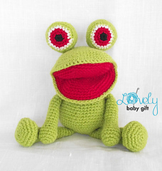 Frog Amigurumi Pattern ⋆ Crochet Kingdom | 240x228