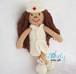 Nurse Jazzy | Patron crochet, Doll patterns free, Crochet patterns | 311x320