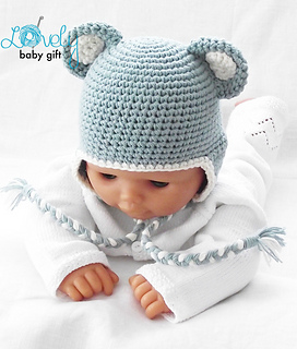 Crochet Baby Bear Hat and Mittens Loops & Love Crochet | 320x272