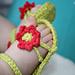 Flower Power Baby Sandal pattern