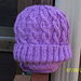 Kathy's Cabled Hat pattern