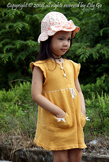 Lauri Dress (hand in pocket)
