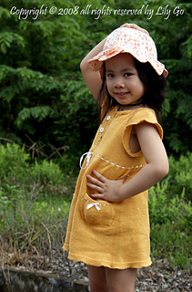 Lauri Dress (hand in the hat