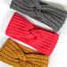 Faux Knit Twisted Ear Warmer pattern