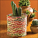 Mosaic Pot Cover pattern