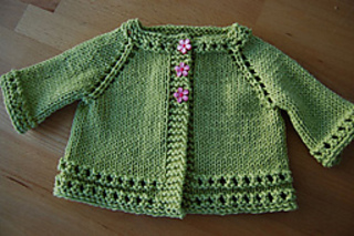 Top Down Baby Sweater- Free