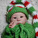 Elf Long Tailed Hat & Cocoon Set pattern