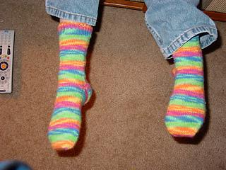 Kiddo's First Socks