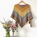 Easy stripes shawl pattern