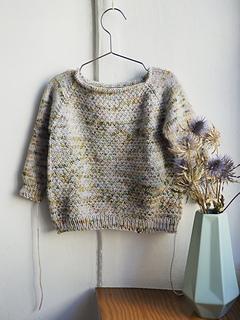 Celia Pullover, un jersey diseñado por Luymou
