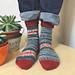 mini curso de calcetines pattern
