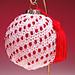 Elegant Beaded Ornament H-103 pattern