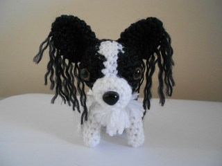 Patch the Papillon Crochet Amigurumi Pattern – Shiny Happy World | 240x320