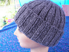 Handspun Ribbed hat