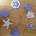 Sea Shell Motifs  /Garland pattern