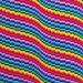Bargello Wave Baby Blanket pattern