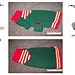 Santa's Elf Dog Sweater Pattern pattern