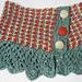 Tweedy Lace Cowl pattern