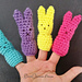 Easter Bunny Finger Puppets pattern