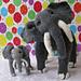 Elsie Elephant and Baby Elvis pattern