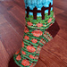 Pumpkin Patch Socks pattern