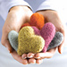Felted Heart Milagros pattern