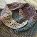 Mahogany Turtle Textured Shawlette pattern