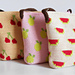 Fruit bags' trio pattern