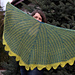 Morning Mist Half Circular Shawl pattern