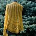 Golden TripleLeaf Shawl pattern