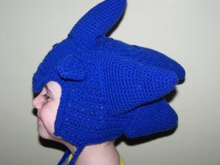 Ravelry Sonic The Hedgehog Earflap Hat Pattern By Melanie Mullally