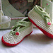 Criss Cross Baby Shoes pattern
