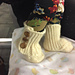 Wrap and Button Booties pattern