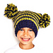 The Square Pompom Hat pattern