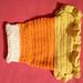 XS Candy Corn Dog Costume pattern