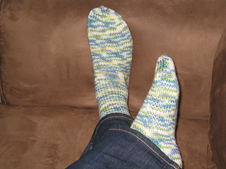 First-Ever Knitted Socks