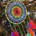 Chakra Mandala Dreamcatcher pattern